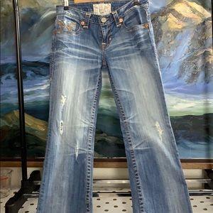 Big star liv boot cut jeans size 29r